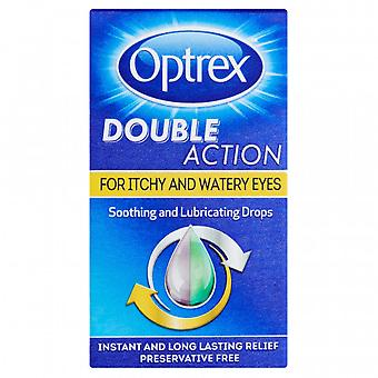 Optrex Monodose Double Action Itchy and Watery Eyes x20