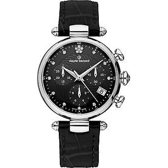 Claude Bernard - Wristwatch - Women - Dress code Chronograph - 10215 3 NPN2