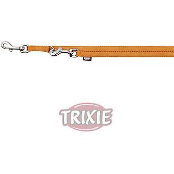 Trixie Brin Premium Réglable, Graphite (Chiens , Colliers, laisses et harnais , Laisses)