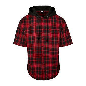 Urban Classics mænds kortærmet skjorte hætteklædte kort ærme