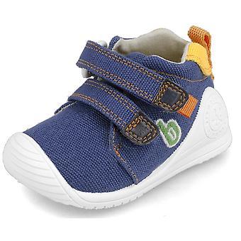Biomecanics Boys 202212-A Canvas Shoes Blue