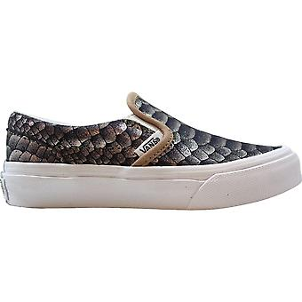 Vans Classic Slip On Metallic Snake/Rose Gold VN0A32QIOF9 Pre-School