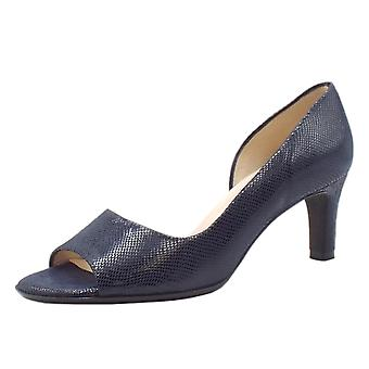 Peter Kaiser Beate Stylish Open Toe Shoes In Notte Sarto