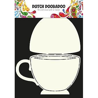 Dutch Doobadoo Dutch Card Art Stencil teacup A4 470.713.622