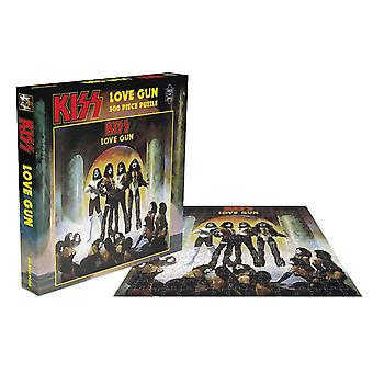 Kiss Jigsaw Puzzle Love Gun Album Cover new Official 500 Piece