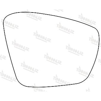 Right Driver Side Stick-On Mirror Glass For Skoda OCTAVIA Combi 2012-2018