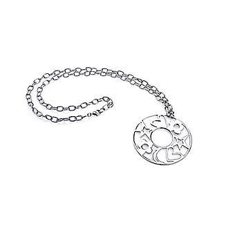 Ženský náhrdelník s lakovaným príveskom Agatha Ruiz De La Prada (7- 44 cm) 147081/Silver
