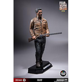 Travis Manawa Color Tops Edition Poseable Figure from Fear The Walking Dead