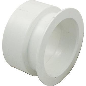 Waterway 425-5030 Poly Gunite Spa Jet Niche Adapter - White