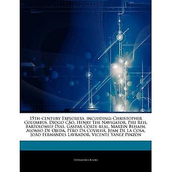 Articles On 15th-century Explorers, Including: Christopher Columbus, Diogo