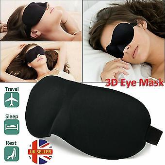 3D-oogmasker zachte spons gewatteerd