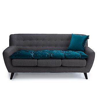 Loft 25 Lussuoso Velvet Mallard 3 Seater Sofa Pad
