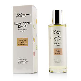 Sweet vanilla dry oil multi use for face, body & hair 221221 100ml/3.4oz