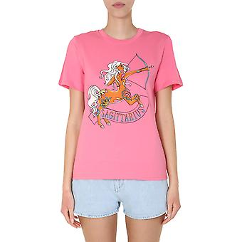 Alberta Ferretti 070401722208 Damen's Rosa Baumwolle T-shirt