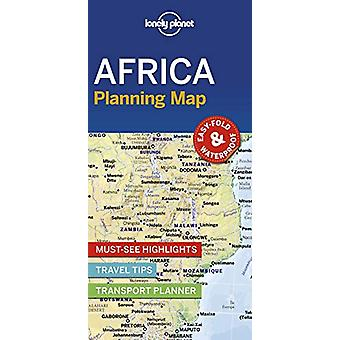 Lonely Planet Africa Planning Map by Lonely Planet - 9781788685894 Bo