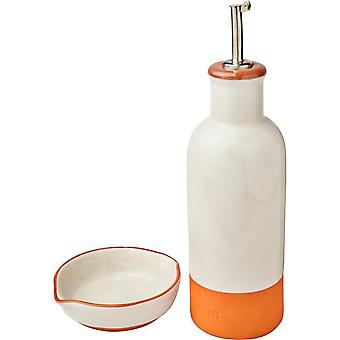 Jamie Oliver Terracotta Drizzler And Dip Set