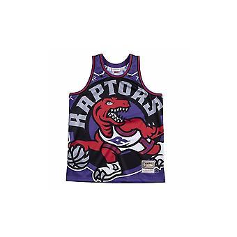 Mitchell & Ness Nba Big Face Jersey Toronto Raptors MSTKBW19068TRAPURP koripallo kesä miesten t-paita