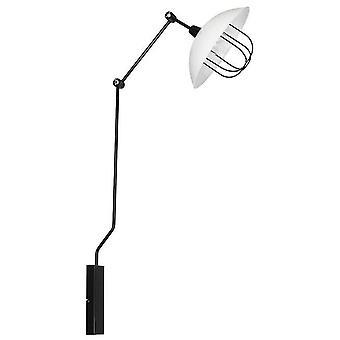 Perseus Wall Lamp Black Metal Color, L61xP38xA120 cm