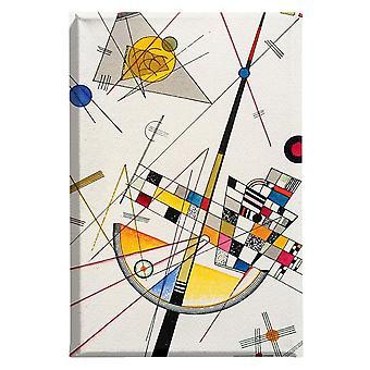 Malerei Inspirationen D'Autor 4 mehrfarbige Farbe in Polyester, MDF 60x4x90 cm
