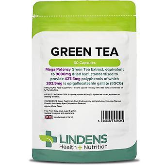 Lindens Green Tea 9000mg (203mg EGCG) Capsules 60 (1585)