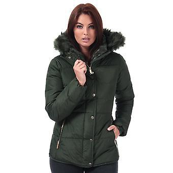 Women's Elle Zoe Down Jacket in Green
