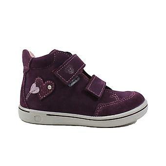 Ricosta Lara 2624100-382 Merlot Nubuck Leather Girls Waterproof Ankle Boots