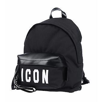Dsquared2 ICON Black White Logo Sac à dos