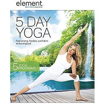 Element: 5 Day Yoga [DVD] USA import