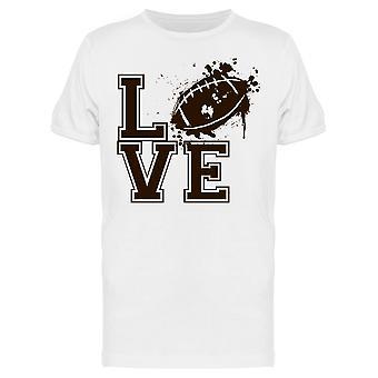 Love American Football Tee Men's -Image by Shutterstock