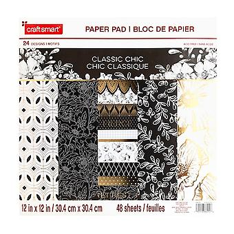 Craft Smith Classic Chic 12x12 Inch Paper Pad