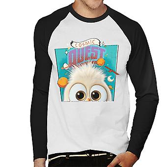 Angry Birds Comic Quest Men-apos;s Baseball Long Sleeved T-Shirt