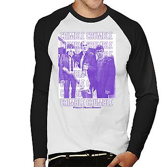 Friday Night Dinner Crimble Crumble Men's Baseball Long Sleeved T-Shirt