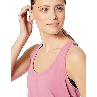 Brand - Core 10 Women's Soft Pima Cotton Stretch Yoga Racerback Tank, ...