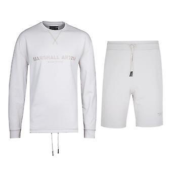 Marshall Artist Non Anth Sweatshirt & Shorts Stone Tracksuit