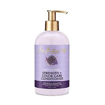 shea moisture purple rice water cond 12,5oz/ (sterkte+kleur) 370 ml