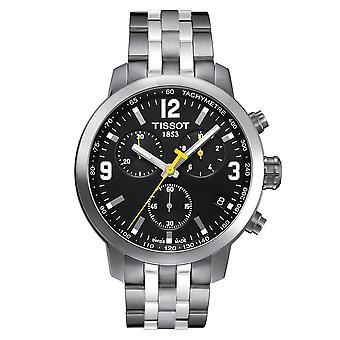 Tissot T0554171105700 RPC 200 Chronograph Black Dial Coloridless Steel Men's Watch