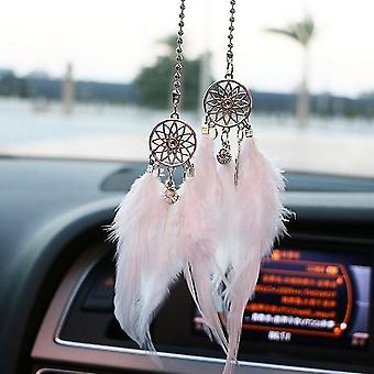 Car Hand-woven Pendant Feather Dream Catcher Interior Decoration