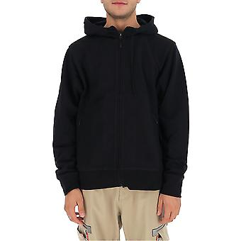 Y-3 Fn3363 Männer's schwarze Baumwolle Sweatshirt