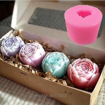 Neue Rose Form Silikon 3d Seife Form für Cupcake Jelly Candy Chocolate