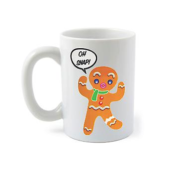 BigMouth Couleur Changeant Gingerbread Man Mug