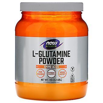 Now Foods, Sports, L-Glutamine Powder, 2.2 lbs (1 kg)