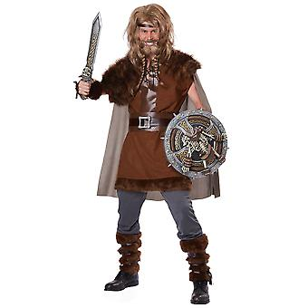 Mighty Viking Barbarian Warrior Medieval Nordic Game of Thrones Men Costume