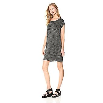 Brand - Daily Ritual Women's Supersoft Terry Muscle Tee Dress, Charcoa...