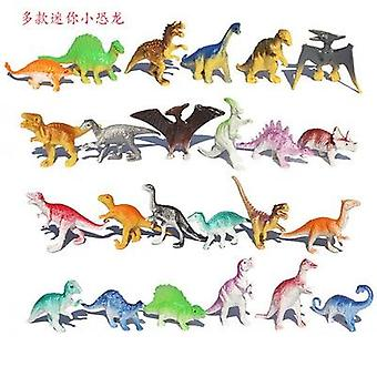 "10pcs/lot Batch Mini Dinosaur Model-""s Educational, Cute Simulation Animal"