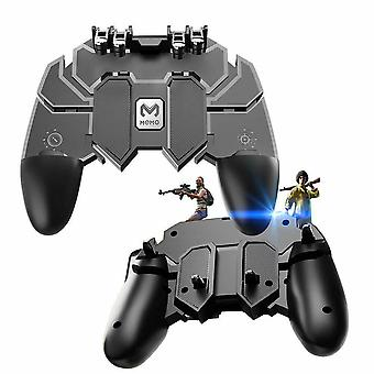 New Mobile Game Controller Six Fingers Gamepad For Ios Android Mobile Phone