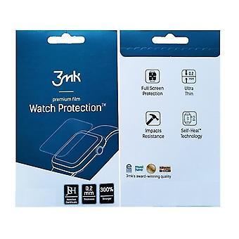 3-PACK Apple Watch 4 - 44mm - 3mk Premium Skärmskydd