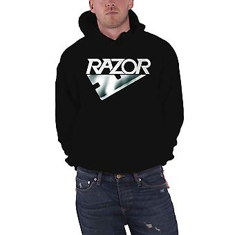Razor Hoodie Band Logo new Official Mens Black Pullover