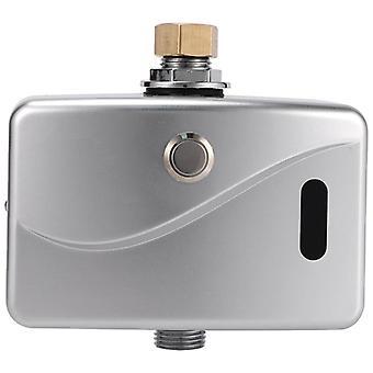 Válvula de descarga urinária elétrica automática DC6v, sensor e manual