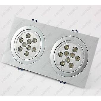 High Power 18 Led Decke Down Light -Fixture Grill Lampen
