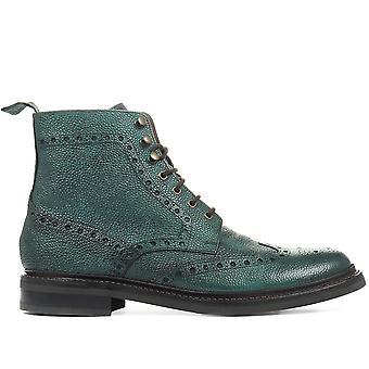 Jones Bootmaker Mens Kristian Goodyear Welted Full Brogue Boots